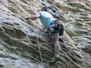 Climbing in Italy